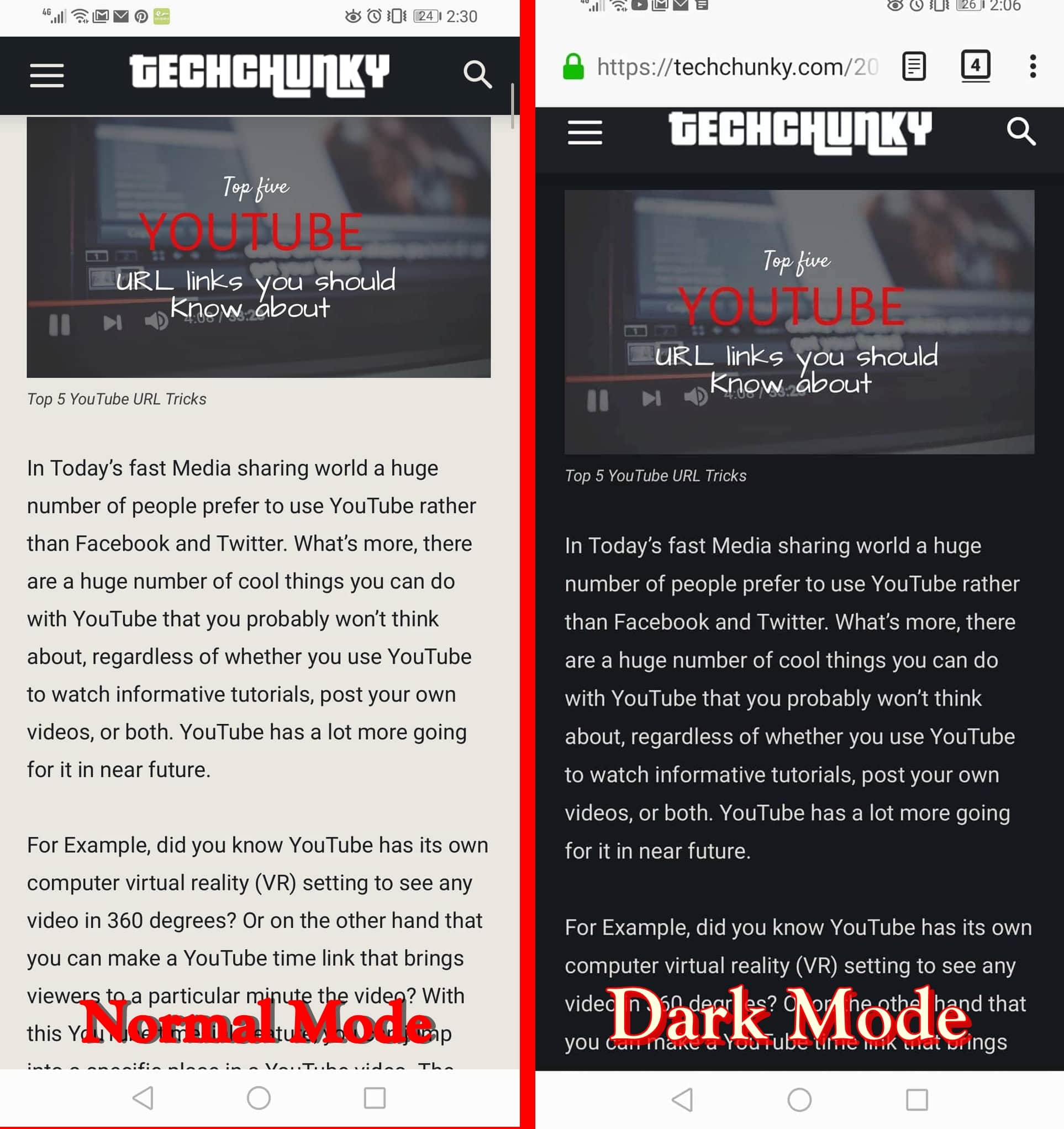 Get Dark Mode in Firefox for Android
